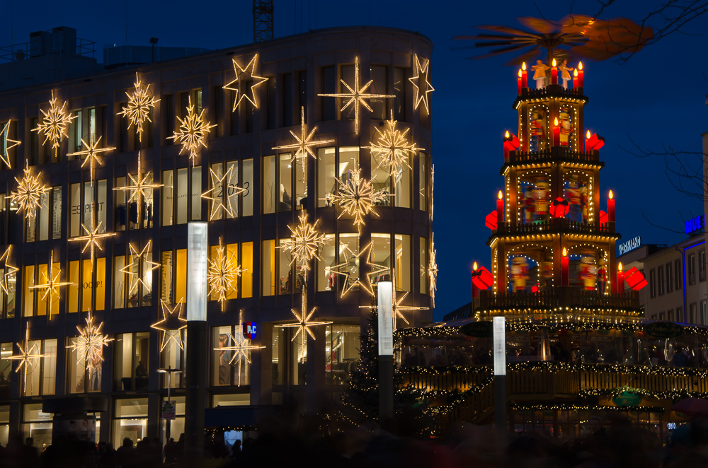 Hannover christmas city lights (12/2012)