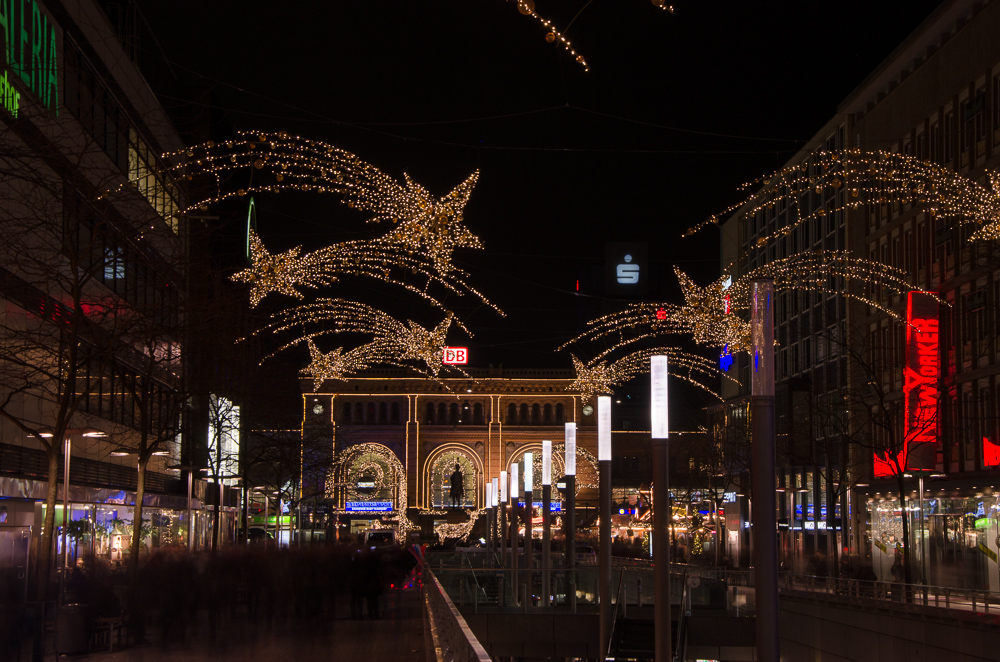 Hannover christmas city lights (12/2017)